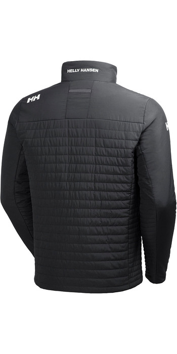 2021 Helly Hansen Crew Insulator Jacket Ebony 54344