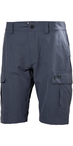 2019 Helly Hansen QD Cargo Shorts Graphite Blue 54154