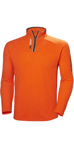 2019 Helly Hansen 1/2 Zip Pull Technical Orange Feu 54213