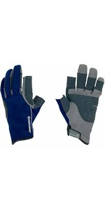 Crewsaver Invierno de 3 dedos JUNIOR Sailing Glove Azul 6331