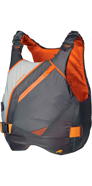 Crewsaver JUNIOR Phase 2 Buoyancy Aid en gris / naranja 6900
