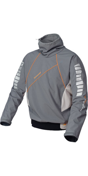 Crewsaver Phase 2 Race Top Fleece gefüttert in Grau / Orange 6902