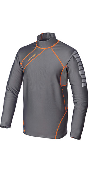 Crewsaver Kids Phase 2 Thermal Control Top Grigio / Arancione 6907