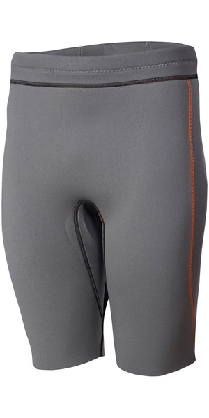 Crewsaver Phase 2 3mm Shorts de neopreno gris naranja 6912