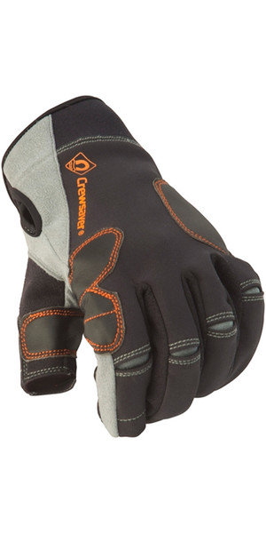 Crewsaver Phase 2 JUNIOR 3 Finger Glove Nero / Grigio 6927