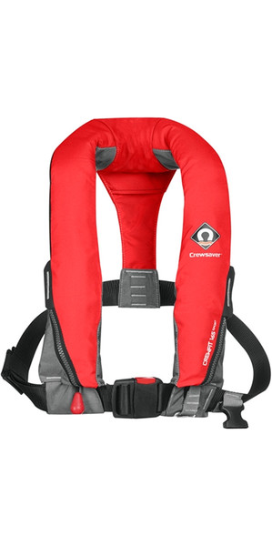 2018 Crewsaver Crewfit 165N Sport Manual Lifejacket - Rojo 9010RM