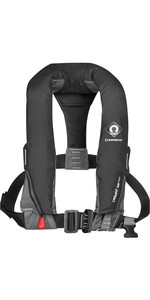 2019 Crewsaver Crewfit 165N Sport Automatic With Harness Lifejacket Black 9015BLA