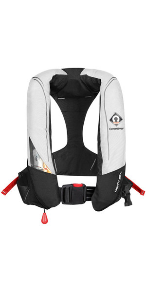 2019 Crewsaver Crewfit 180N Pro Automatic Lifejacket White / Red 9020WRA