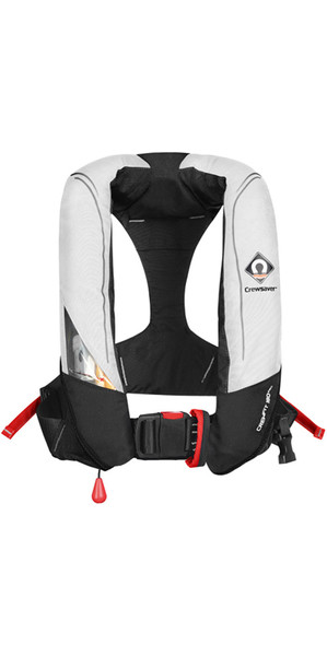 2018 Crewsaver Crewfit 180N Pro Automatikweste White / Red 9020WRA
