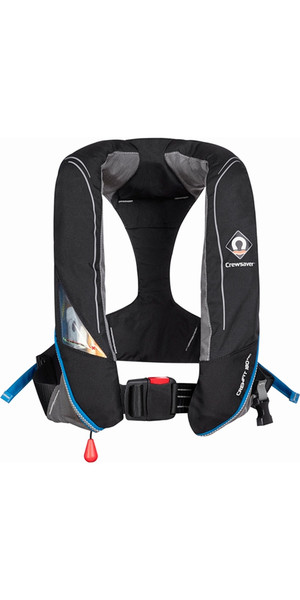2018 Crewsaver Crewfit 180N Pro Manual Black Lifejacket 9020BKM