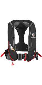 2019 Crewsaver Crewfit 180N Pro Automatic Harness Redningsvest Black / Red 9025BRA