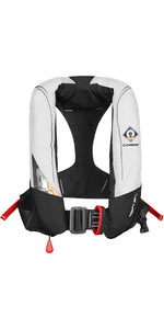 2020 Crewsaver Crewfit 180N Pro Automatic Harness Lifejacket White / Red 9025WRA