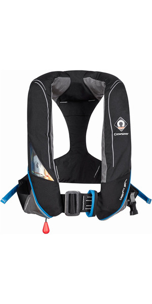 2018 Crewsaver Crewfit 180N Pro Manual With Harness Lifejacket Black 9025BKM