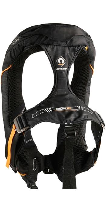2021 Crewsaver Ergofit 290N Ocean Hammar Lifejacket + Harness + Light +Hood 9135BKHP