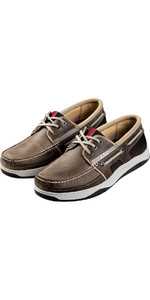 2018 Gill Newport 3 Eyelet Deck Shoe GREY 925