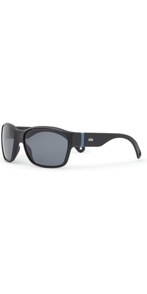 2019 Gill Junior Longrock Sunglasses Black / Smoke 9671