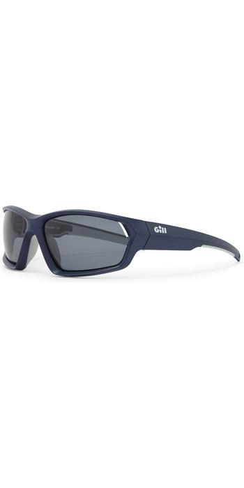 2021 Gill Marker Sunglasses Blue / Smoke 9674
