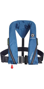 2020 Crewsaver Crewfit 165N Sport Automatic Harness Lifejacket 9715BA - Blue