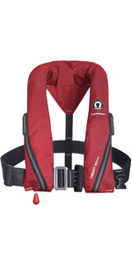 2020 Crewsaver Crewfit 165N Sport Manual Harness Lifejacket 9715RM - Red