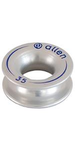 Allen Brothers Aluminium Vingerhoed Zilver A87