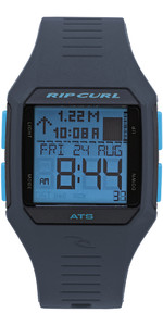 2019 Rip Curl Rifles Mid Tide Surf Uhr Blue Ice A1124