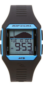 2019 Rip Curl Rifles Mid Tide Surf Watch Blue / Black A1124