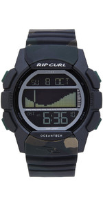 2019 Rip Curl Curl Drifter Tide Watch Jungle Camo A1134