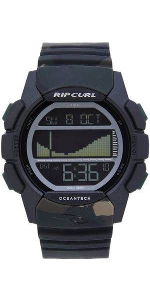 2019 Rip Curl Drifter Tide Reloj Jungle Camo A1134