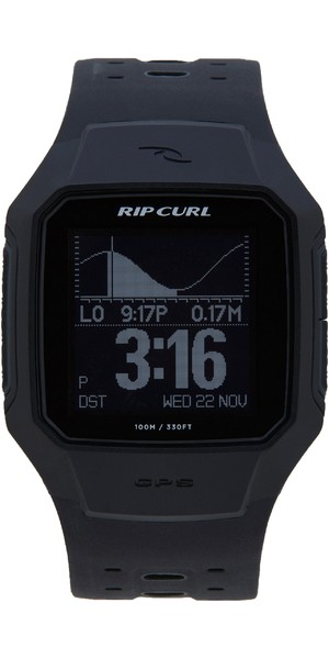 Montre GPS Surf Series 2 Smart Rip Curl 2019 Noir A1144