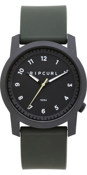 2019 Rip Curl Cambridge Silikon Uhr Military Green A3088