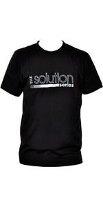 Billabong Mens Solution Tee em preto A4AS02