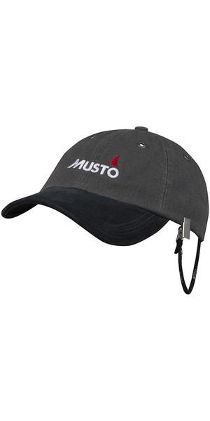 2018 Musto Evo Original Crew Cap Grigio Scuro AE0191