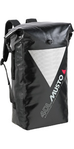 Musto DRY Back Pack Bag 40L BLACK AL3312