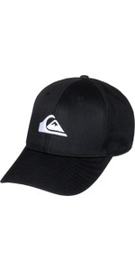 2019 Quiksilver Decades Snapback Cap Black AQYHA04002