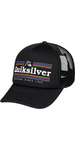 2019 Quiksilver Jetty Crocker Hat Sorte Aqyha04443