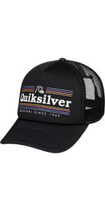 2019 Quiksilver Jetty Quiksilver Hat Black AQYHA04443