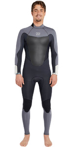 Billabong Absolute Comp 3/2mm Back Zip Asfalto Wetsuit Back Zip F43m22