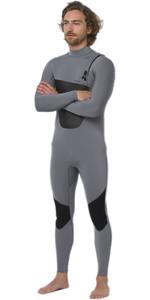 2020 Animal Mens ANML 3/2mm Zip Free Wetsuit AW0SS001 - Grey