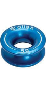 Allen Brothers Aluminium Fingerhut Blau A87
