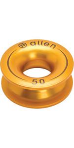 Allen Brothers Aluminium Vingerhoed Goud A87