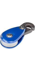 Allen Brothers Classic Dinghy Block Single Plain Bearing with Inglefield Clip Royal Blue A78-74