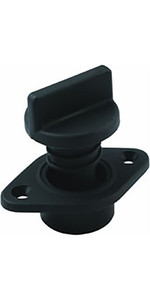 Allen Brothers Drain Socket With Captive Screw Bung A323 - Black
