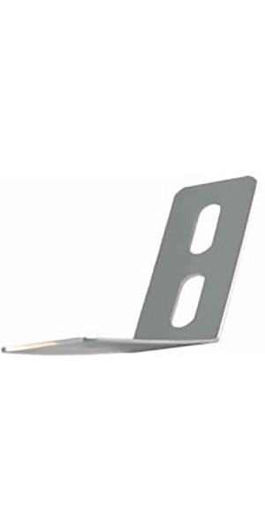 Clip di sostegno per timone in acciaio inox A4121 di Allen Brothers