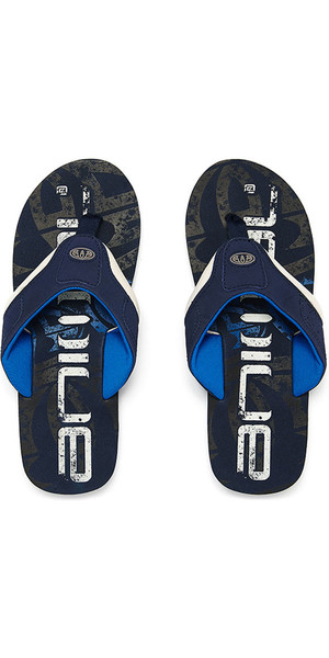 2018 Animal Jekyl Logo Mens Flip Flops Dark Navy FM8SN002