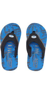 2019 Jekyl Júnior Do Animal Júnior Logotipo Flip Flops Azul Náutico Fm9sq600