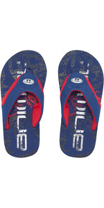 2019 Animal Júnior Meninos Jekyl logo Flip Flops Seaport Azul FM9SQ600