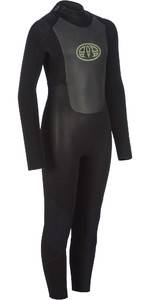 2019 Animal Junior Boy's Lava 5/4 5/4/3mm Gbs Back Zip Wetsuit Preto Aw9wq601