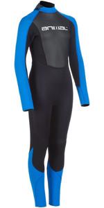 Nova Animal Junior Nova 3/2mm Wetsuit Met Back Zip Heren AW0SS602 - Zwart