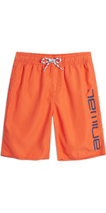 2019 Animal Junior Tanner Board Shorts Firecracker Orange CL9SQ600