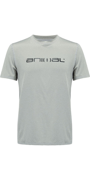 2018 Animal Latero T-shirt à manches courtes protection UV Grey Marl CL8SN022